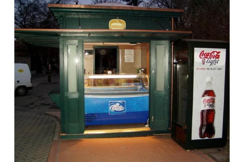 AD-6 Nestlé Fagylalt árusító pavilon