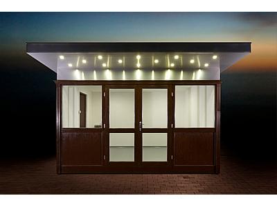 ADV-12-A Utcai pavilon, ajtós