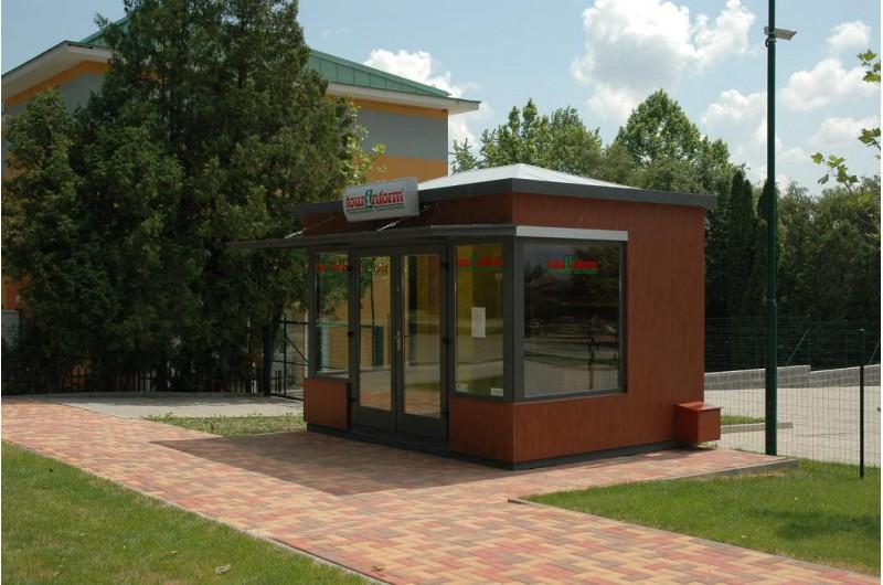 DV-12 Turisztikai információs pavilon