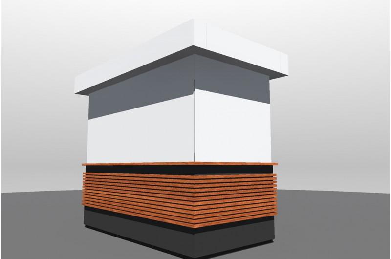 Fagyi-sziget XXL hűtőpulthoz