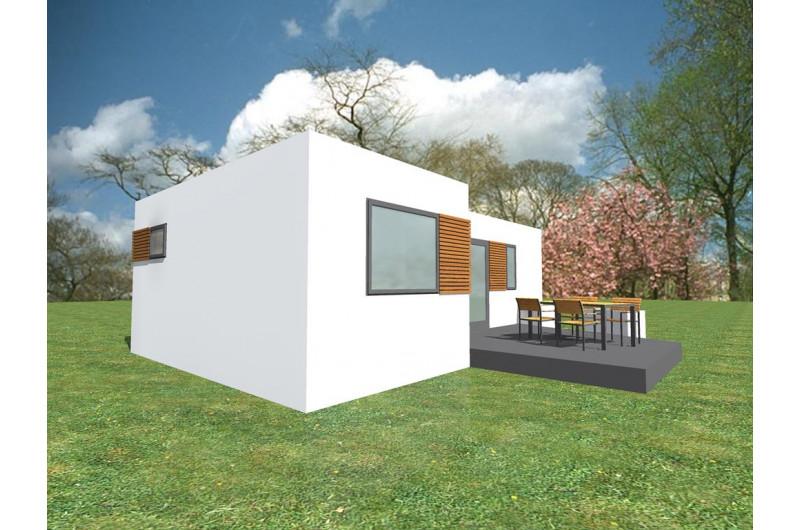 HH-48 - Hétvégi ház 48 m2 alapterülettel