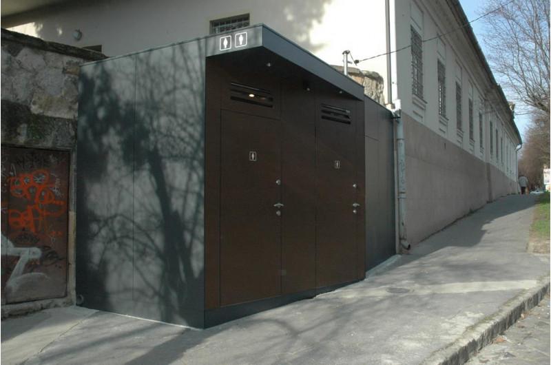SZP-SZT-E-4 egyedi WC épület