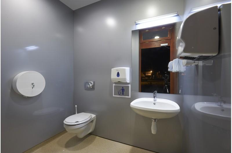 SZP-THW-12 WC épület