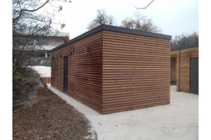 SZP-THW-28 WC épület