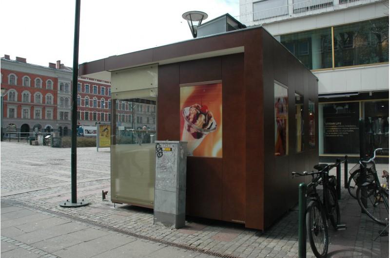 SZT-12 Fagylalt árusító pavilon