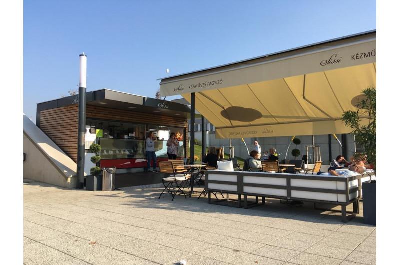 SZT-THW-17 fagylaltos pavilon